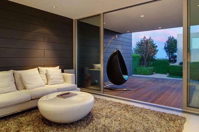 Stelle Architects Ocean Residence Guest House modern-living-room