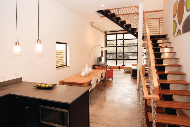 Modern Living Room industrial-living-room