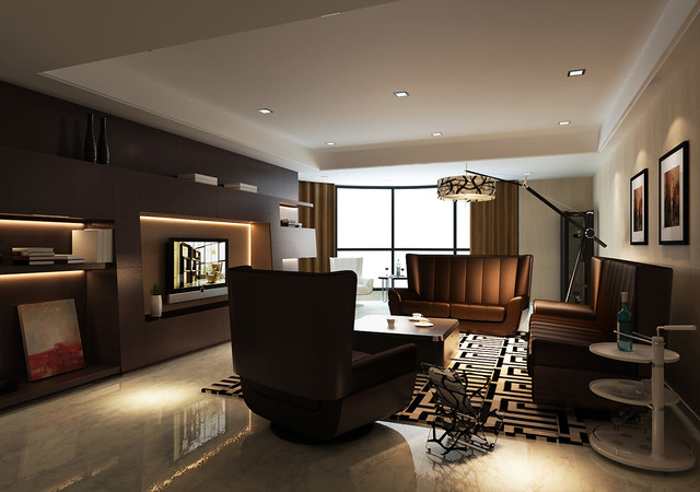 Limitless - 3D Living Room - modern - living room - other metro ...