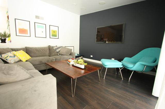 Riverside Home modern-living-room