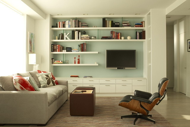 Small Wonder modern living room