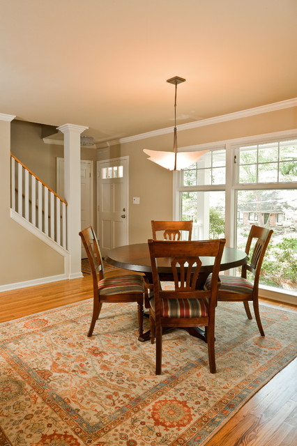 Modern Living Space in Cape Cod traditional-living-room