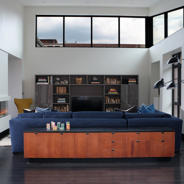 Modern Loft In Strip District Pittsburgh Modern Living Room Other By Weisshouse