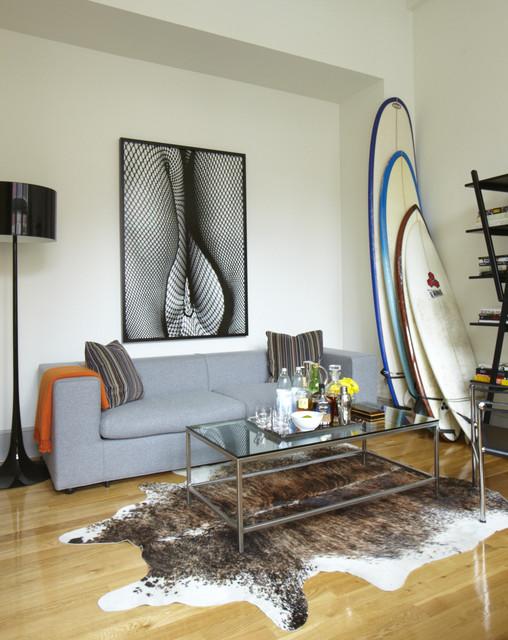 Modern Loft Project modern-living-room