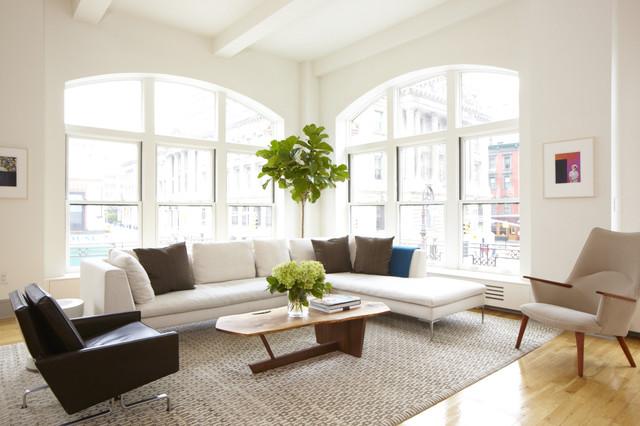 Modern Loft Project moderno-soggiorno