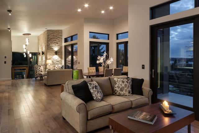 Modern Luxury at 102 16th Ave Kirkland - Modern - Living ...