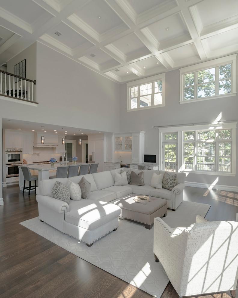 Modern Luxury - Modern - Living Room - Boston - By Fresh Start Contracting Company