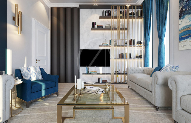 Modern Luxury House Interior Design Modern Living Room By Comelite Architecture And Structure
