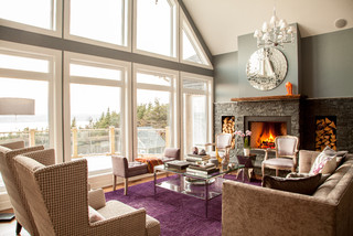 Modern Main Floor - Contemporary - Living Room - other metro - by Mod & Stanley Design Inc.