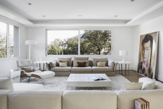 Modern Mediterranean House Contemporary Living Room Other Metro By Li