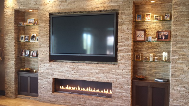 Living Room By Matt Clawson If A Television Set Over Fireplace