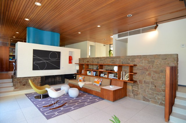 modern mid century midcentury living room other metro by aa