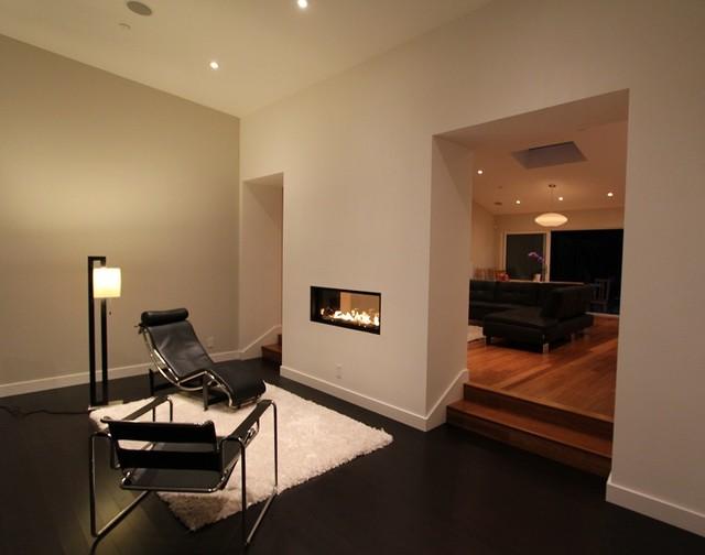 Modern Millbrae remodel and addition modern-living-room