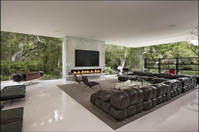 Modern modern-living-room