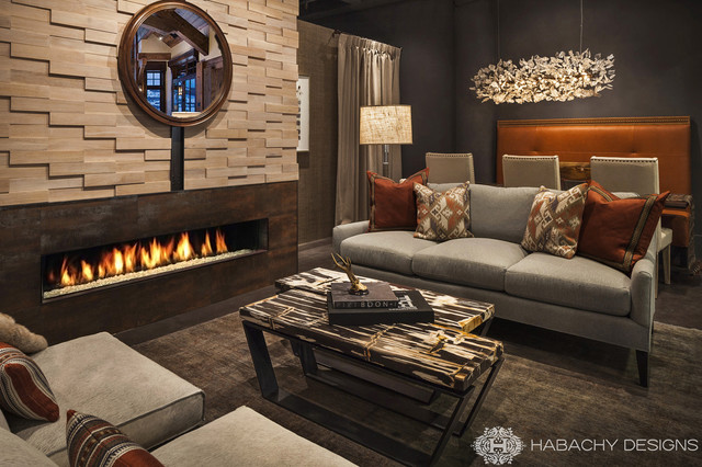Modern Mountain Chalet - Modern - Living Room - Other - by Habachy ...
