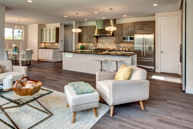 Living Room Ideas New Build modern new construction & energy efficient in downtown kirkland