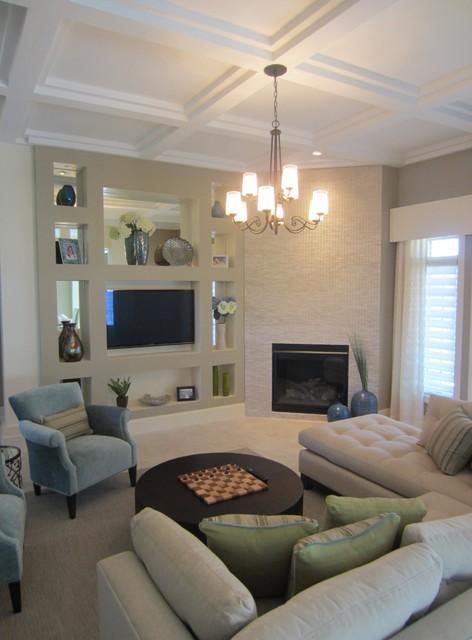 Modern Oasis modern-living-room