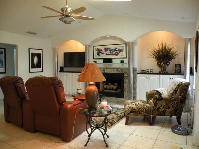 Modern Renovation traditional-living-room