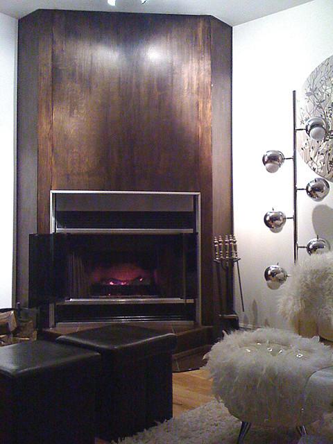 Modern Residence in South Shore modern-living-room