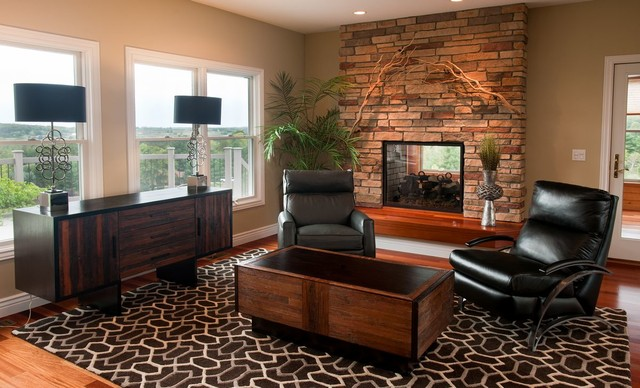 Modern Rustic Furniture Modern Living Room Other