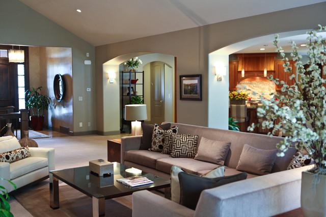 Modern Rustic Living RoomModern Living Room, Salt Lake City