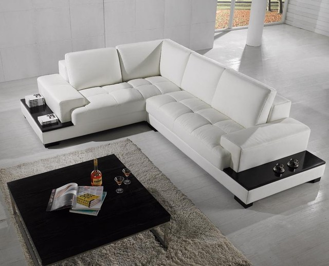 t27c modern leather sectional sofa with recliners covers white bonded living room built in light