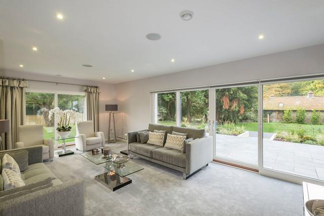 Modern Show Home The Adelia Contemporary Living Room Sussex By Scandia Hus Ltd Houzz Au