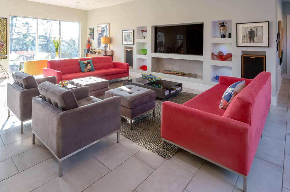 Modern Simplicity Living Room, Furniture Little Rock