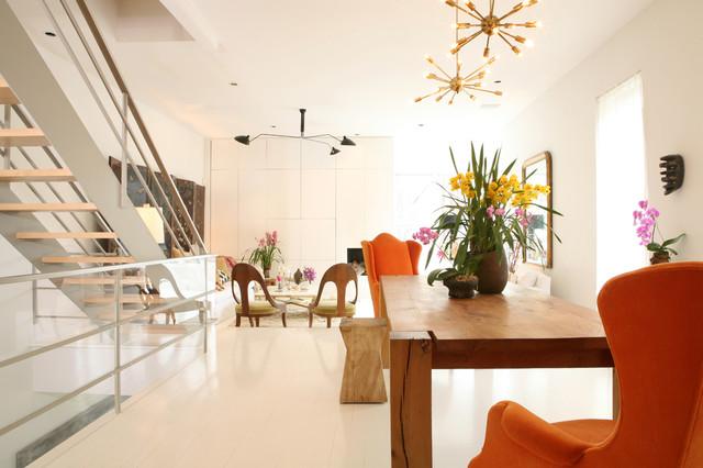 Modern Single Family Home contemporary-living-room