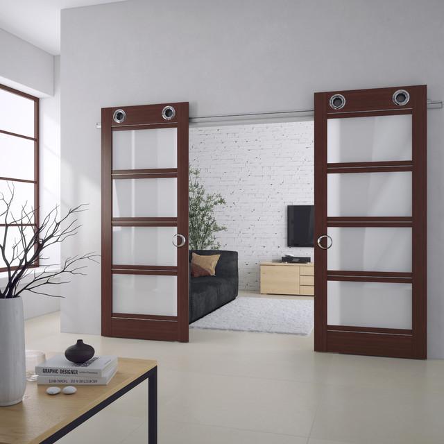 Living Room Sliding Doors Interior