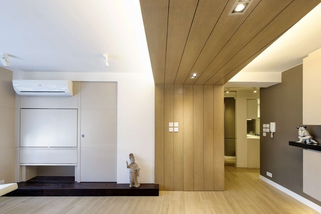 Modern Small warm Apartment - Contemporary - Living Room - hong kong ...