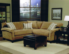 Modern Sofas N' Modern Spaces traditional-living-room