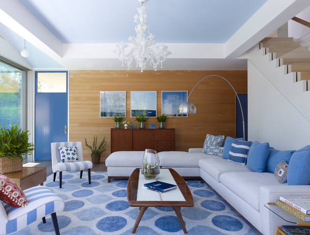 Blue And White Living Room Decorating Ideas blue and white living room | houzz