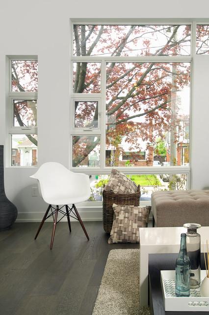 Modern Toronto Infill modern-living-room