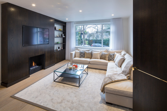 Modern Town House Contemporary Living Room London