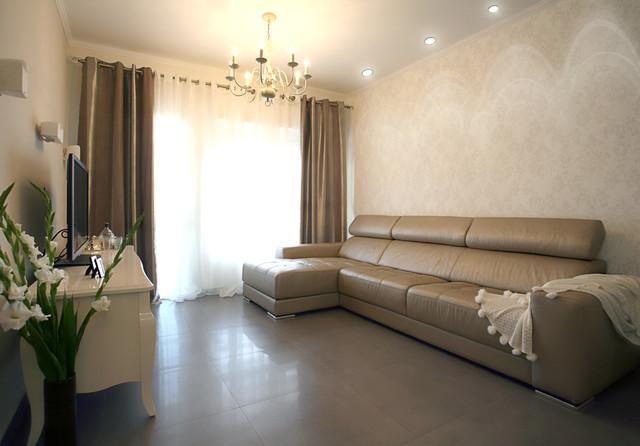 Modern victorian for Modern victorian living room designs