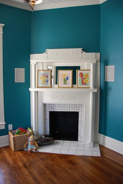 Modern vintage living room for Modern vintage living room