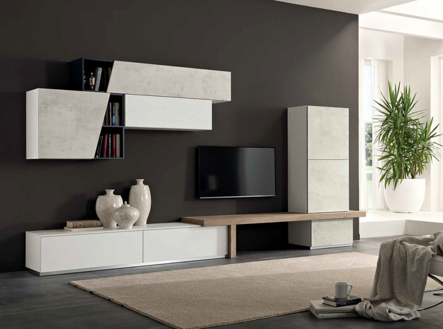 Modern Wall Unit Exential T09 by SPAR - $4,275.00 - Moderno ...