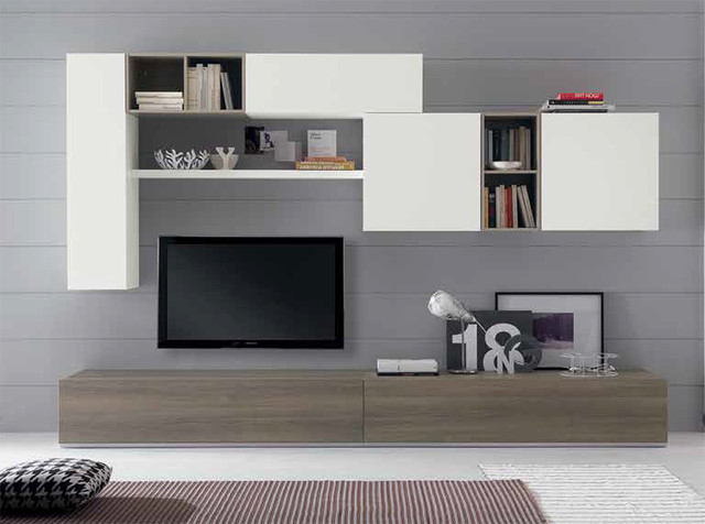 Modern Wall Unit Exential Y48 by Spar - $4,159.00 - Moderno ...