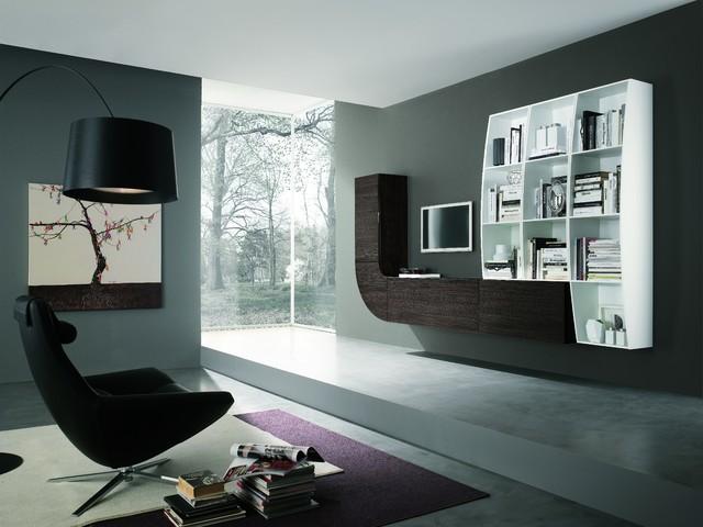 Modern wall unit velvet millennium 941 by artigian mobili ...