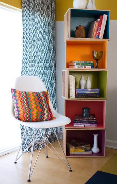 Mollie Ranize for Teen Project eclectic-living-room