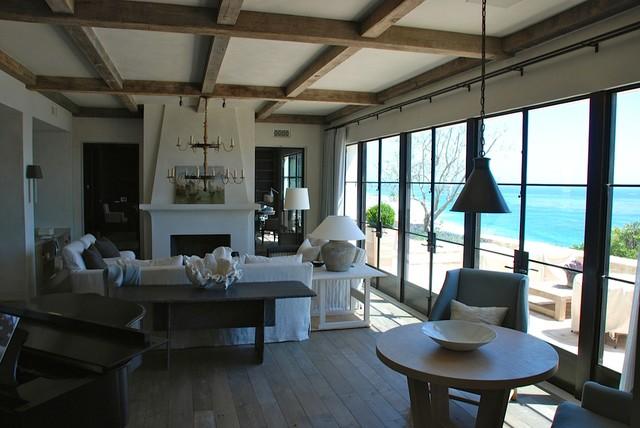 Monarch Bay mediterranean-living-room