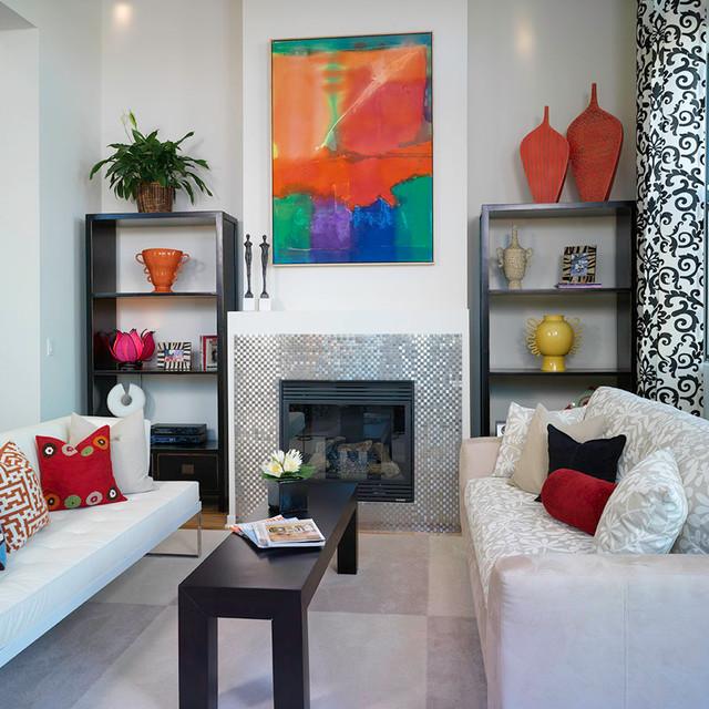 Mondrian contemporary-living-room