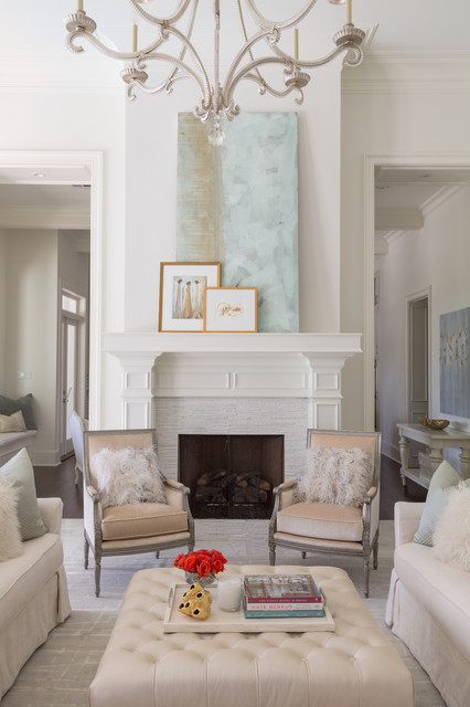 Money Hill Traditional Living Room New Orleans By
