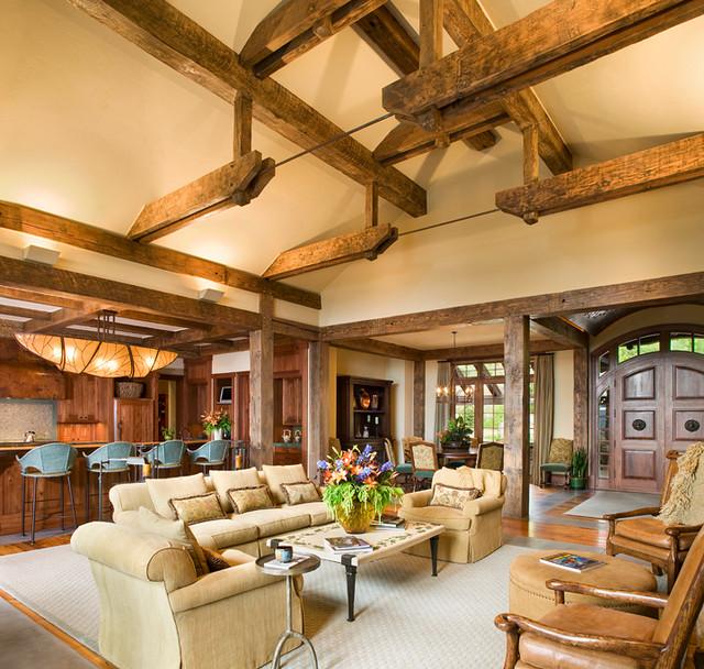 Montana Natural traditional-living-room