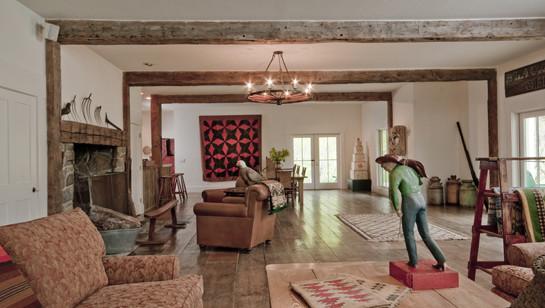 Montana Ranch living-room