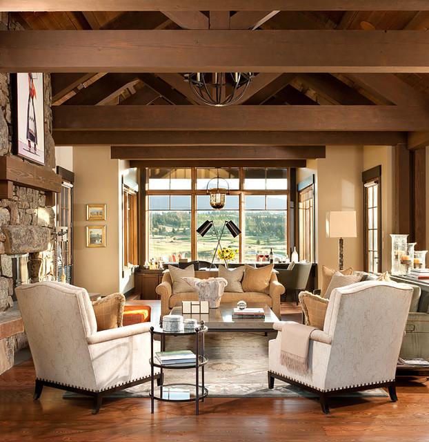 Montana Residence traditional-living-room