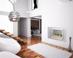 Monte Carlo 2 Sided Ethanol Fireplaces by Eco-Feu modern-living-room