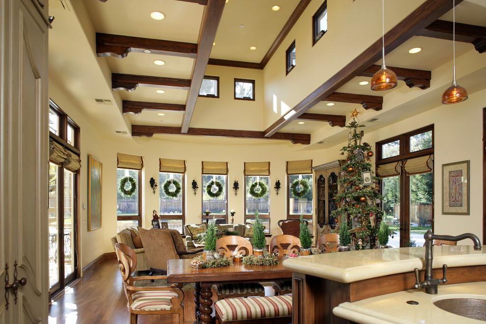 Inspiration for a mediterranean living room remodel in San Francisco