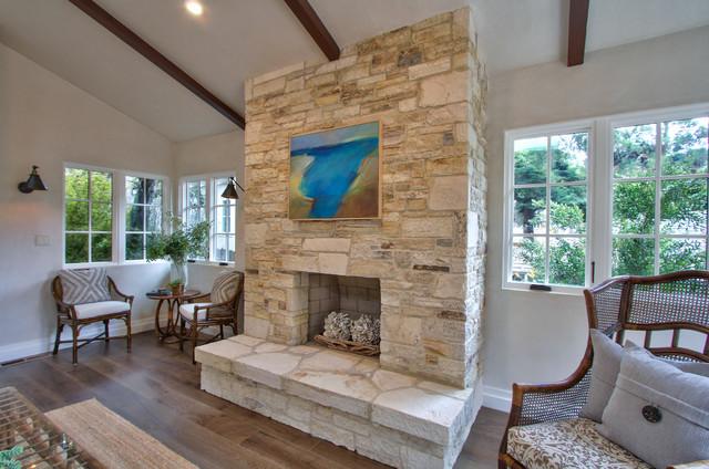 Monte Verde transitional-living-room